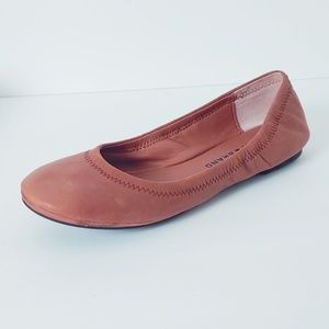 Lucky Brand Brown Emmie Ballet Flats. Size 6.5